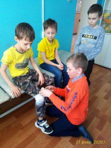 В КЦСОН Пугачевского района прошла патриотическая квест-игра
