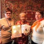 Труженицу тыла из Пугачевского района Валентину Ефимовну Морозову поздравили с 90-летием