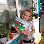 Сотрудники КЦСОН Пугачевского района поддержали акции ко Дню России