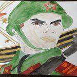 В ГАУ СО КЦСОН Пугачевского района подвели итоги онлайн-конкурса детских рисунков «Грозно грянула война», посвященного Дню памяти и скорби