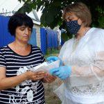 В преддверии нового учебного года семьям с детьми бесплатно выдают маски