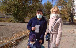 Специалисты КЦСОН Пугачевского района провели акцию «Воспитание без насилия»