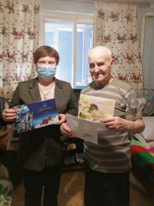 90-летний юбилей встретил житель Пугачева