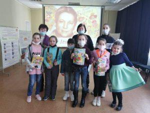 Подростки, состоящие на обслуживании в КЦСОН Пугачевского района, бывали в гостях у Агнии Барто