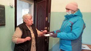 Мобильная бригада КЦСОН Пугачевского района побывала в Заволжском муниципальном образовании