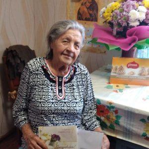 Труженица тыла из Пугачевского района отметила 95-летний юбилей