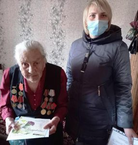 95-летний юбилей встретила жительница г. Пугачев