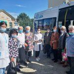 Представители старшего поколения Пугачевского района проходят плановую диспансеризацию