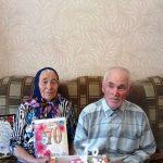 Благодатную свадьбу справила супружеская пара из Пугачевского района