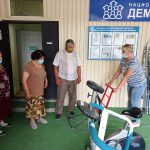 В Пугачевском районе реализуется региональный проект «Старшее поколение»