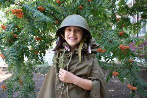 В КЦСОН Пугачевского района прошла фотосессия в стиле военного времени