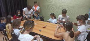 В КЦСОН Пугачевского района отпраздновали День российского флага