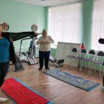 В ГАУ СО КЦСОН Пугачевского района продолжаются занятия по гимнастике для пожилых людей